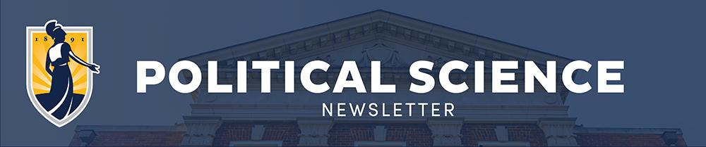 Poli Sci Newsletter header